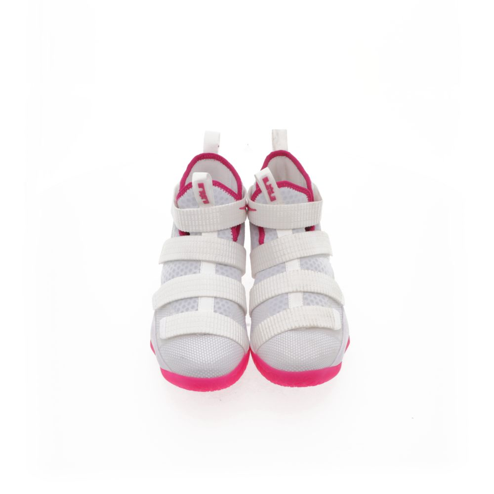 sneakers for cheap 6aaba 2252a LeBron Soldier XI Kay Yow - WHITE/VIVID PINK/WHITE