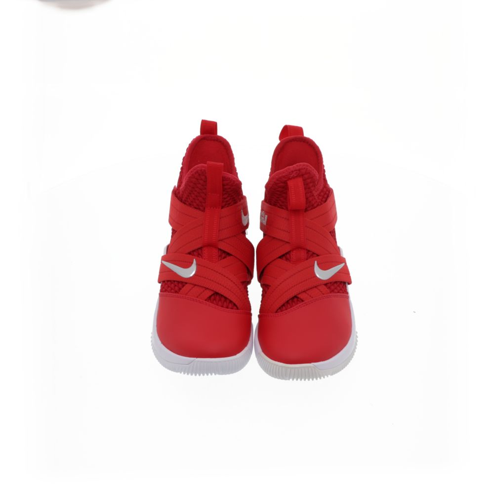 detailed look dbcf7 65d18 LeBron Soldier 12 (Team) - UNIVERSITY RED/WHITE/METALLIC SILVER