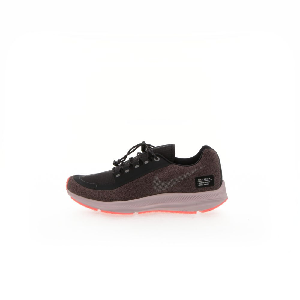 online retailer 1bd28 55cc4 Nike Air Zoom Winflo 5 Run Shield - SMOKEY MAUVE/OIL GREY/PARTICLE  ROSE/METALLIC SILVER