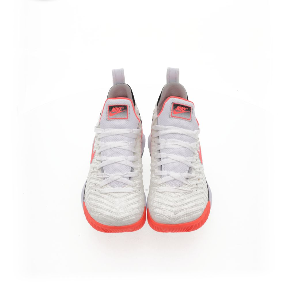 <!-- this list order is intentional -->             Lebron xvi hot lava white